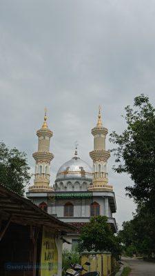 Menara masjid baitul muttaqin